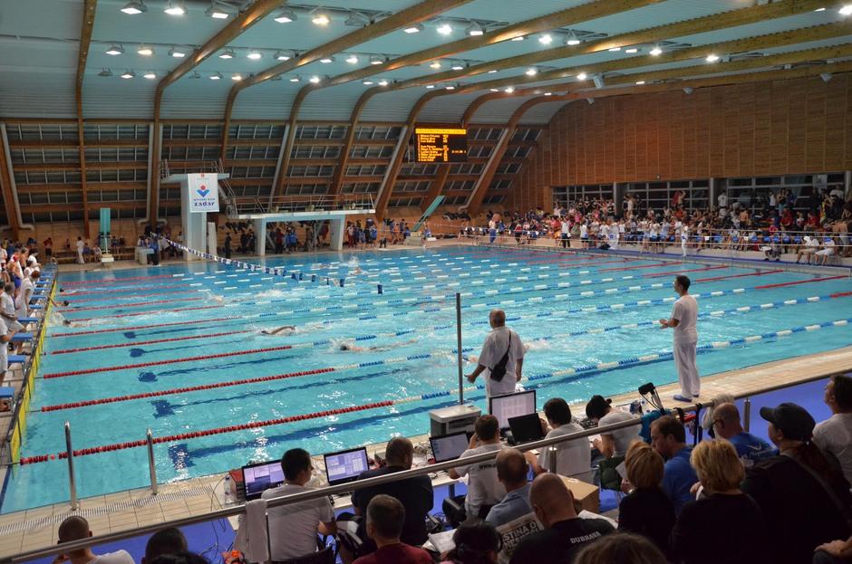 Bazen Višnjik, plivanje (Foto: Ivan Katalinic / Antena Zadar)