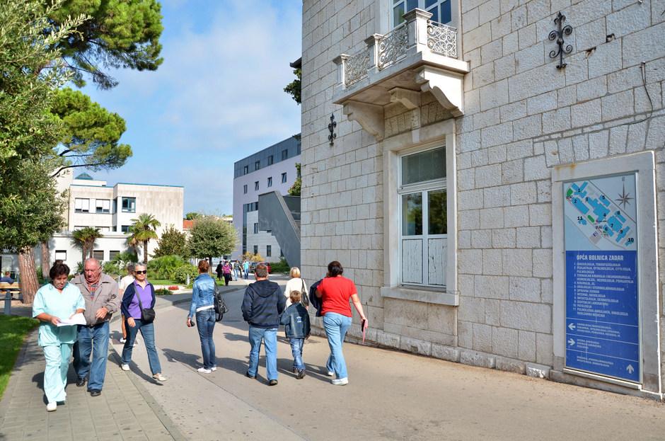 Opća bolnica Zadar (Foto: Ivan Katalinić / Antena Zadar)