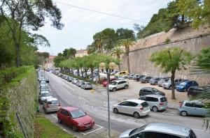Bedemi, parking Foša (Foto: Ivan Katalinić / Antena Zadar)