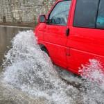 Poplava u Zadru (Foto: Žeminea Čotrić / Antena Zadar)