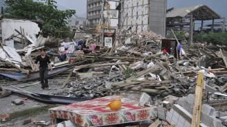 Potres na Tajlandu