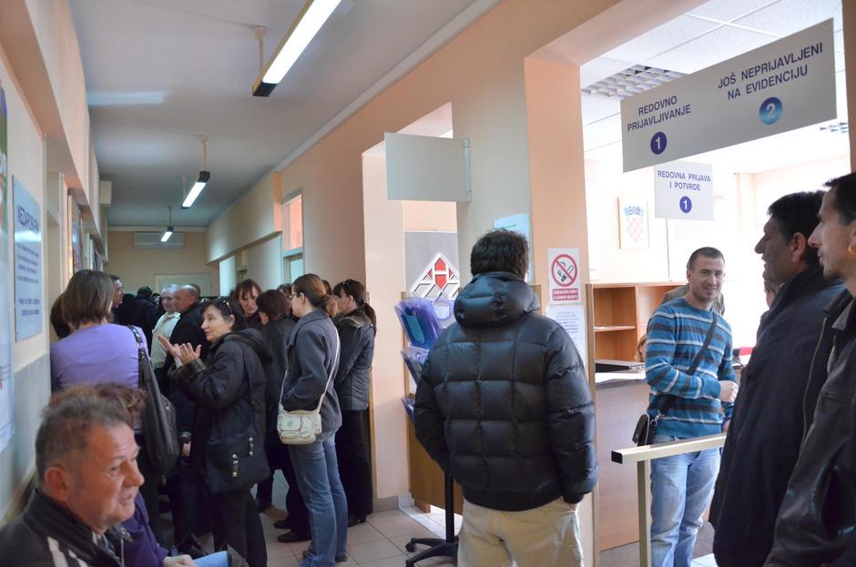 Zavod za zapošljavanje, biro (Foto: Ivan Katalinić / Antena Zadar)