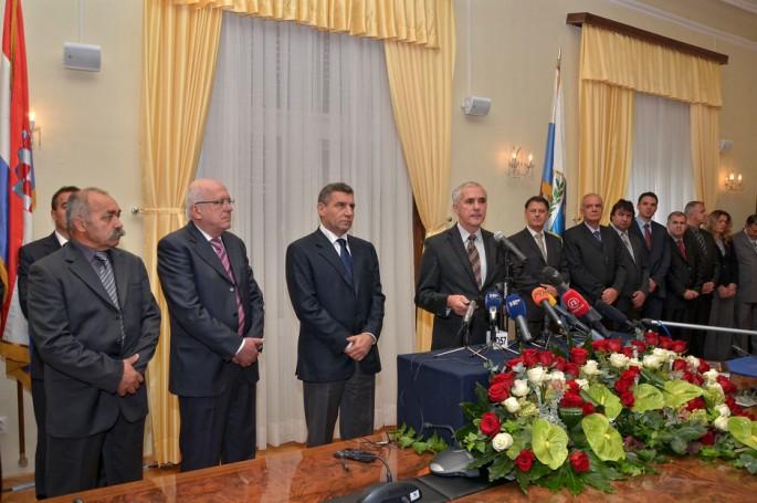 Prijem kod župana,Ante Gotovina  (Foto: Ivan Katalinić / Antena Zadar)