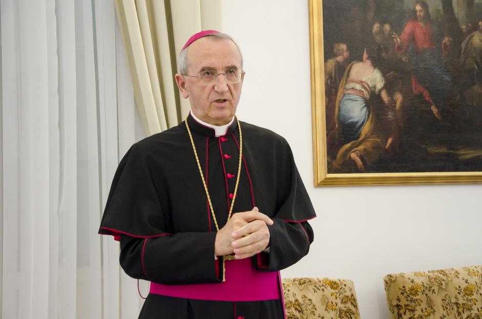 Nadbiskup Želimir Puljić (Foto: Ivan Katalinić / Antena Zadar)
