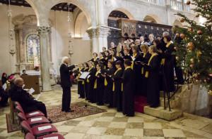 Božićni koncert u katedrali (Foto: Ivan Katalinić / Antena Zadar)