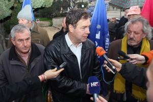Prosvjed Nauta Lamjana (Foto: Zrinka Ivković / Antena Zadar)