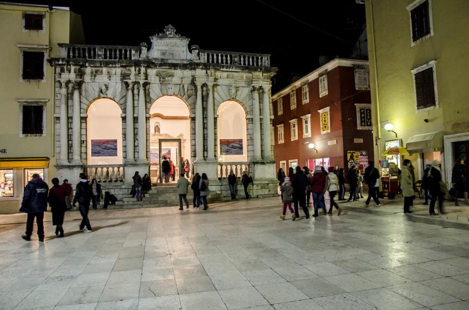 Noć muzeja 2013, Gradska loža (Foto: Ivan Katalinić / Antena Zadar)