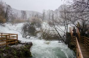 Slap na Martin Brodu, rijeka Una (Foto: Ivan Katalinić / Antena Zadar)