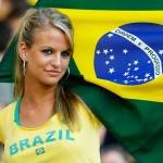 Brazil, navijačica
