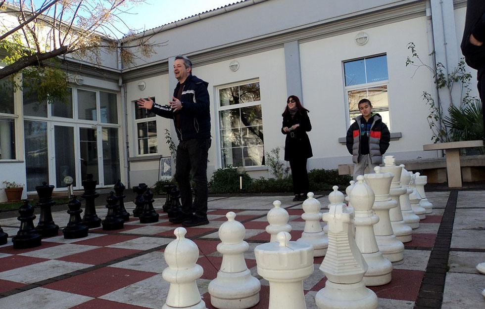 Dvorišni šah