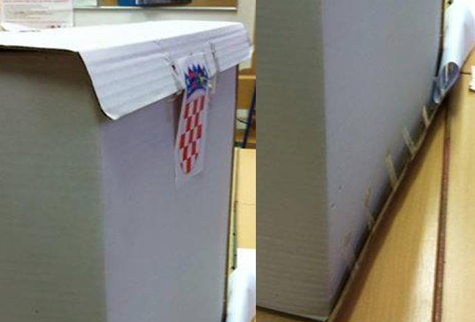 Glasačka kutija Zadarski otoci