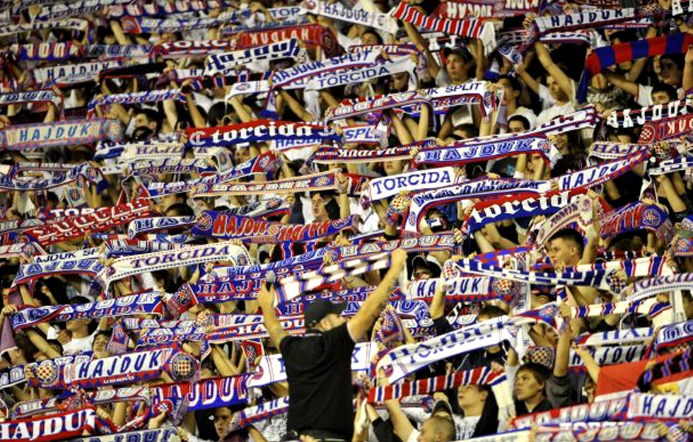 Torcida, Hajdukovi navijači
