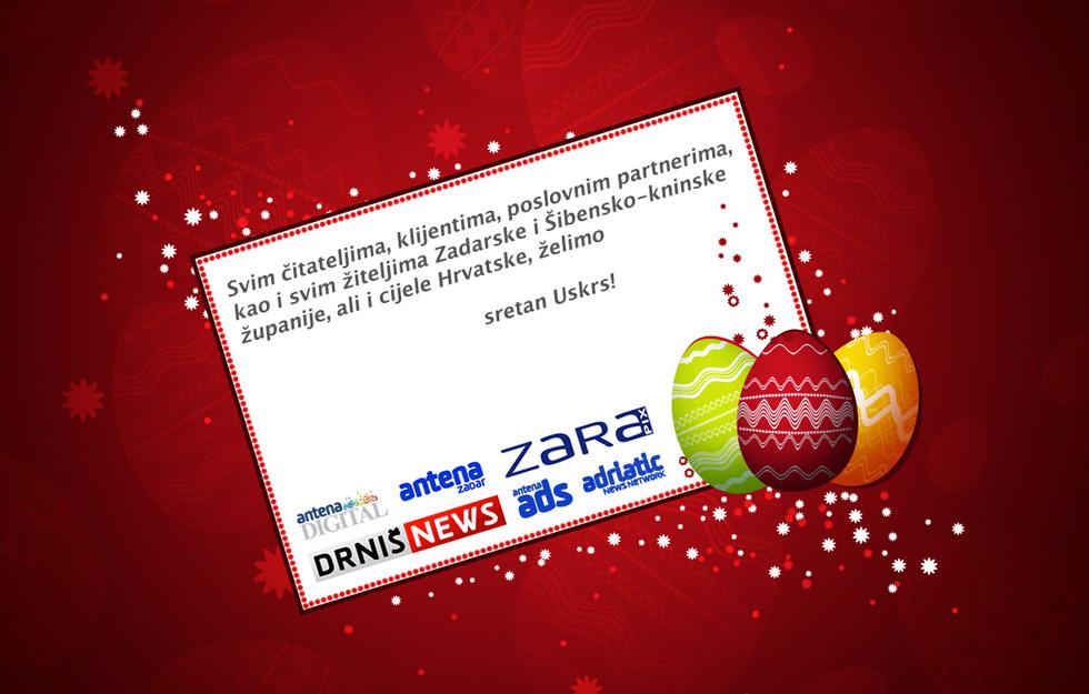 čestitke za uskrs poslovne Sretan vam Uskrs! – Antena Zadar čestitke za uskrs poslovne
