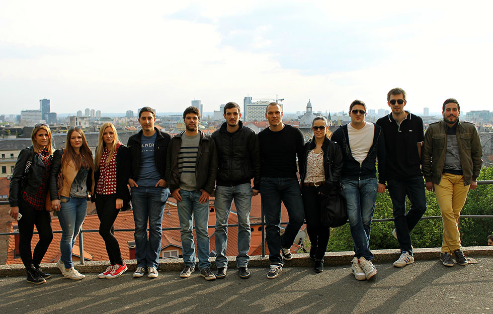 Zadarski studenti u Zagrebu