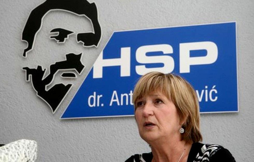 Ruža Tomašić, HSP AS