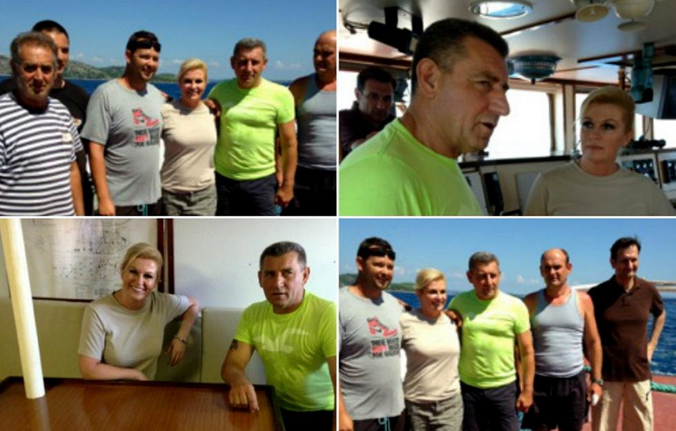 Ante Gotovina i Kolinda Grabar Kitarović