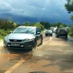 Obilna kiša u Sukošanu