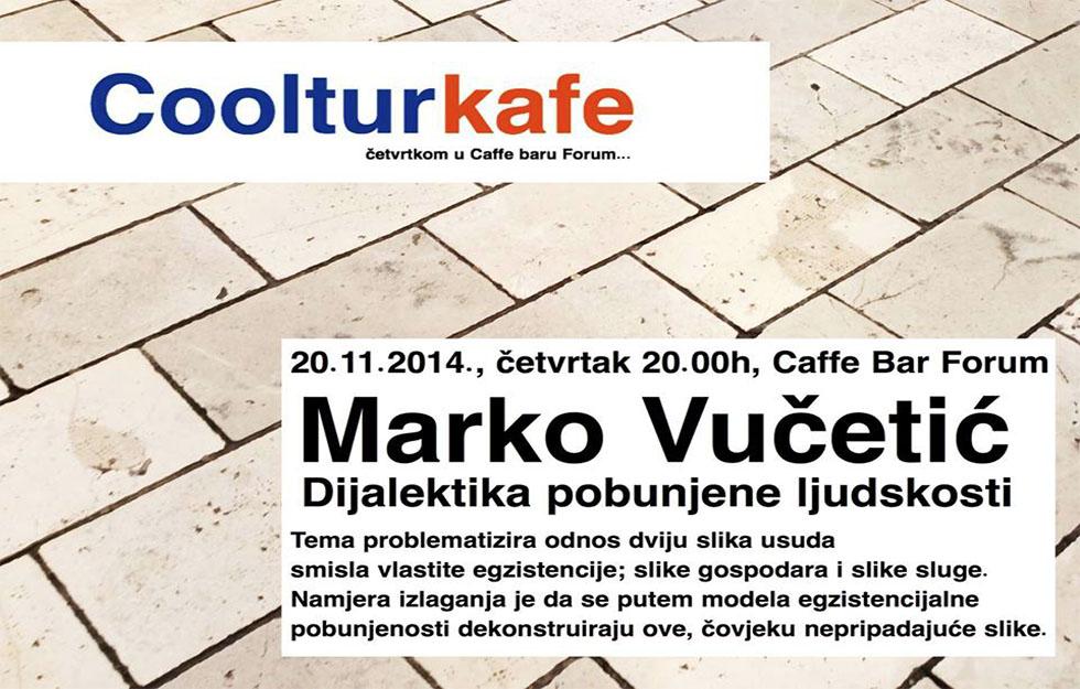 Cooltur caffe - Marko Vučetić
