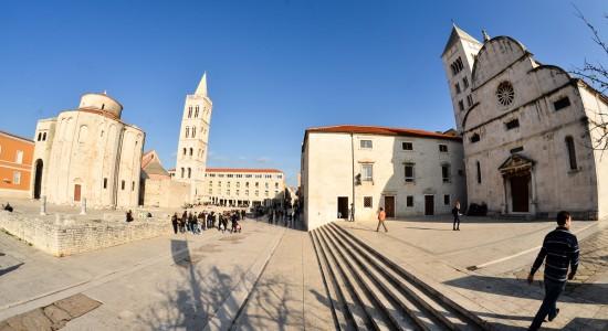 Forum, Sv. Donat, Sv. Marija
