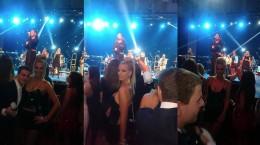 Ava Karabatić na Cecinom koncertu