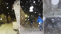 Snijeg u Splitu