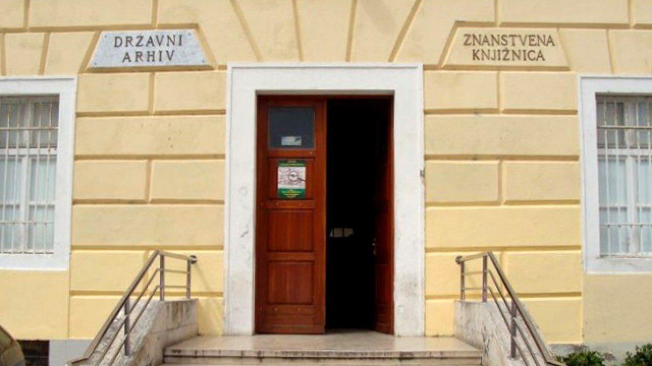 Drzavni Arhiv U Zadru Trazi Arhivista Antena Zadar