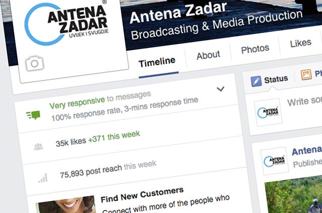 Facebook Antene Zadar
