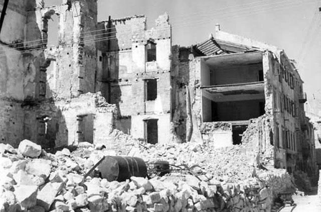 Zadar nakon bombardiranja
