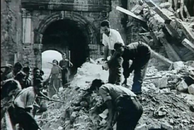 Poeci Obnove Zadra Nakon II Svjetskog Rata
