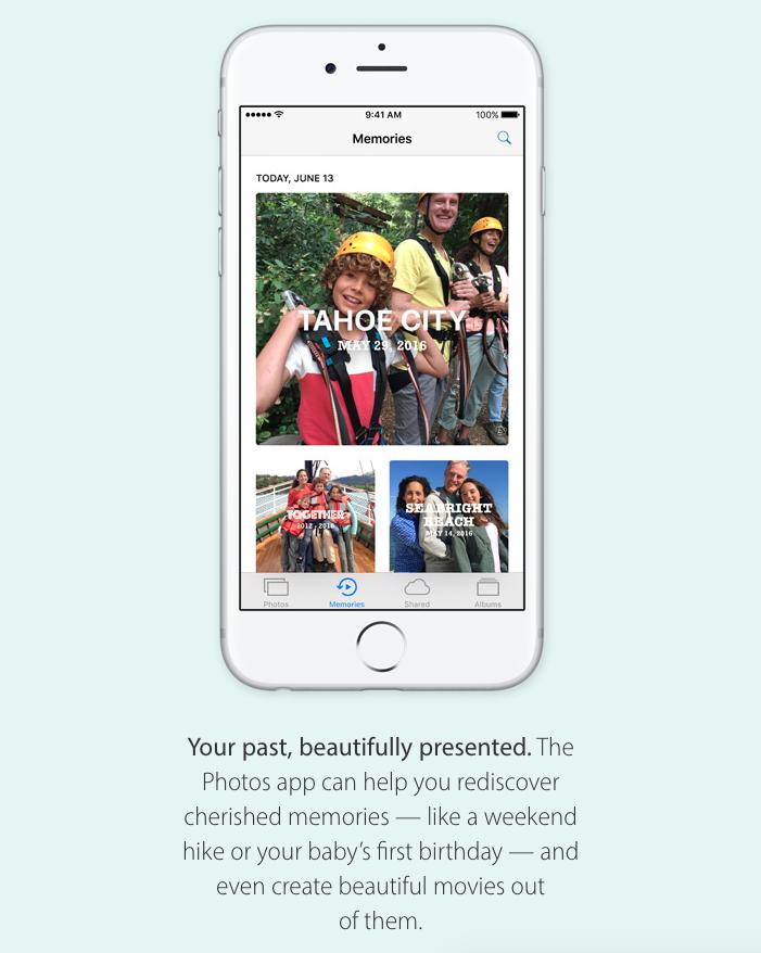 iOS 10 fotke