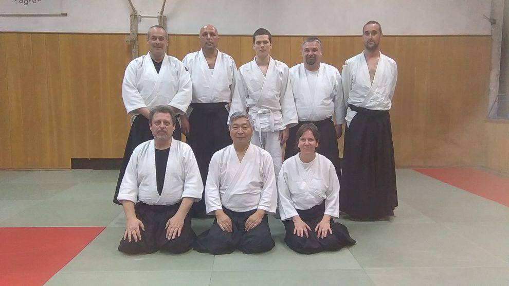 Aikido klub Zadar i Sensei Kenjiro Yoshigasaki