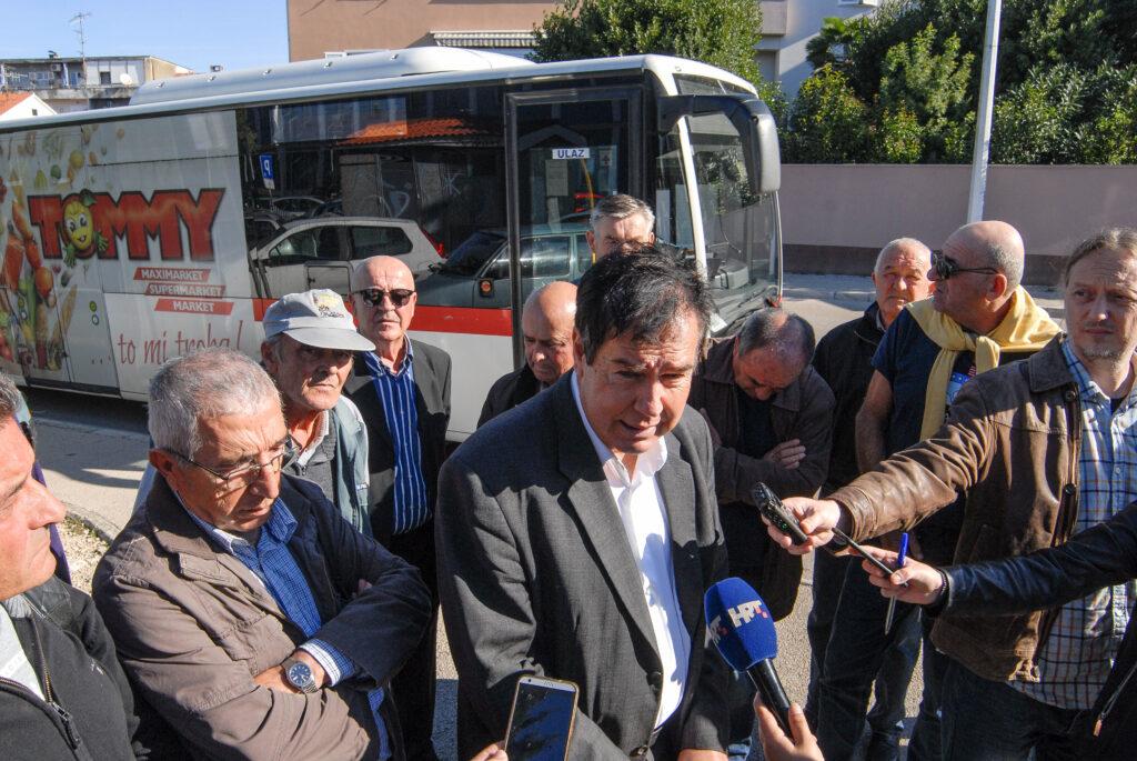 Bivši radnici Croatia Zadar Linea ponovno prosvjeduju; Traže da se okonča jedan od najduljih sudskih postupaka u Hrvatskoj