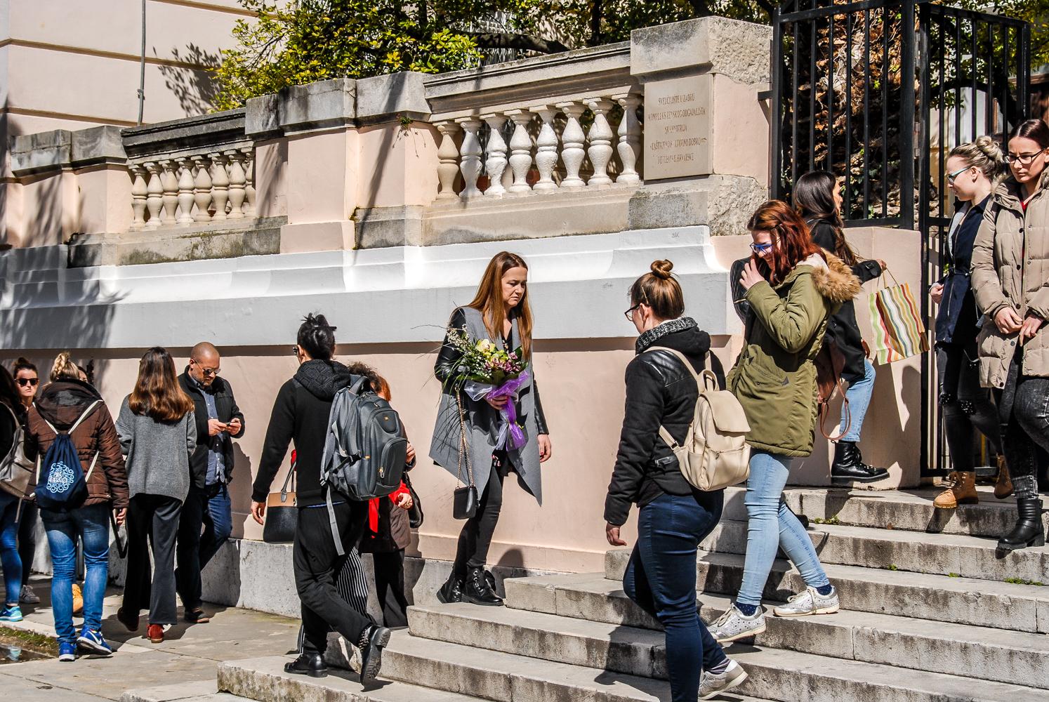 web stranica za upoznavanje studenata s gradom