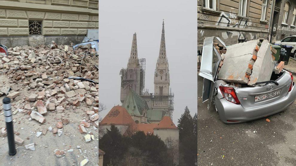 Tri Jaka Potresa Pogodila Zagreb Stanovnici Glavnog Grada Izasli