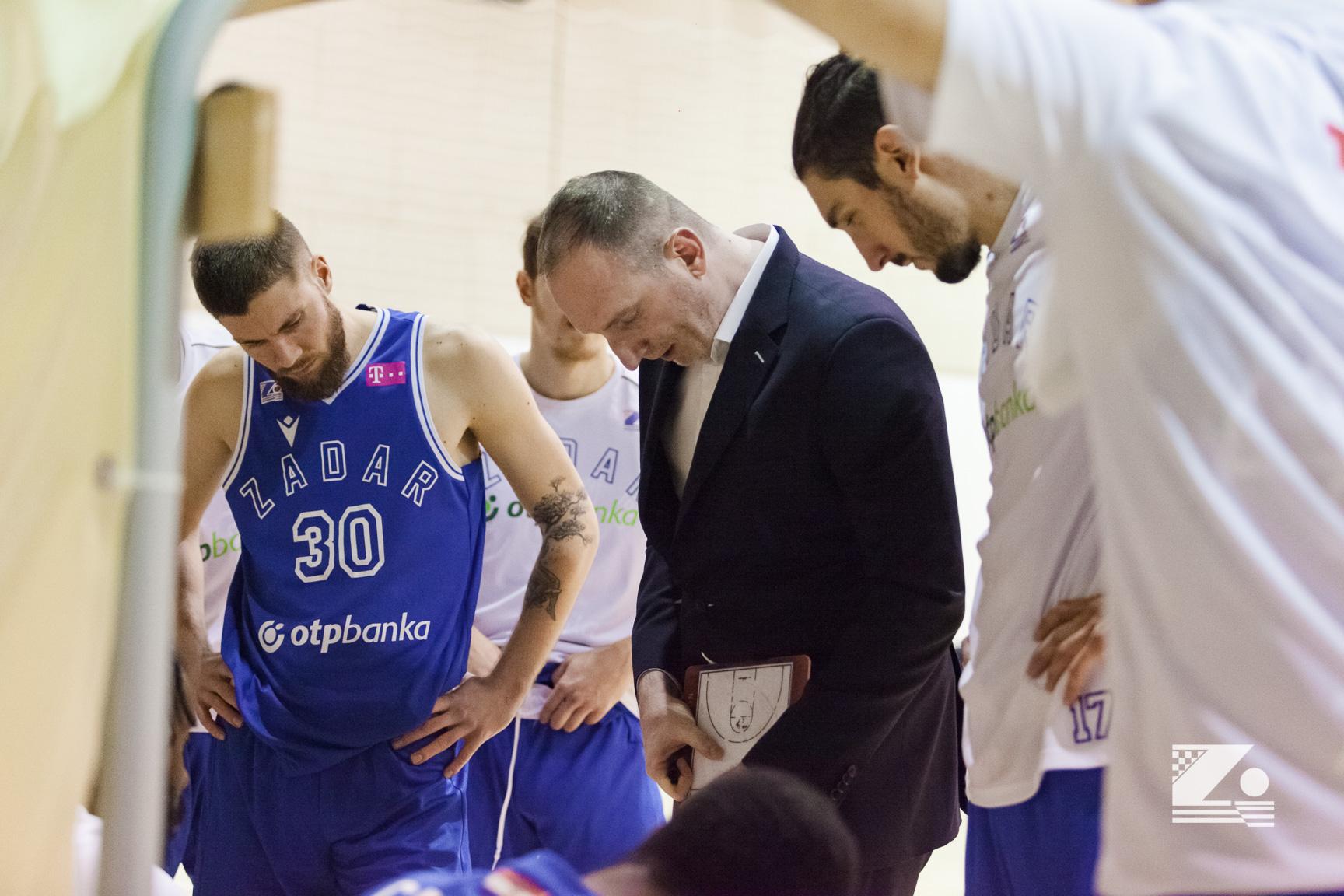 """Osma uzastopna pobjeda Zadra u domaćem prvenstvu; Perinčić: """"Za dva dana je nova utakmica, idemo dalje"""""""
